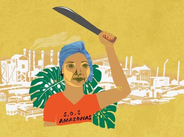 "Foto: Astrid Fadnes for radiodokumentaren ""S.O.S Amazonas"""